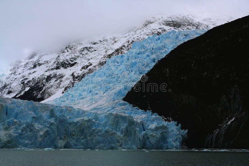Spegazzinigletsjer, Los Glaciares Nationaal Park, Argentinië royalty-vrije stock afbeeldingen