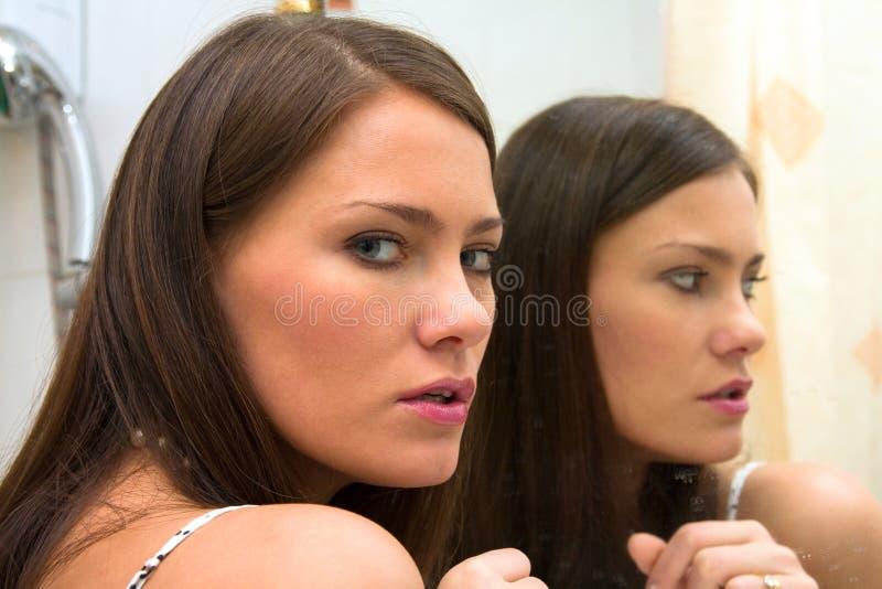 spegel royaltyfria foton