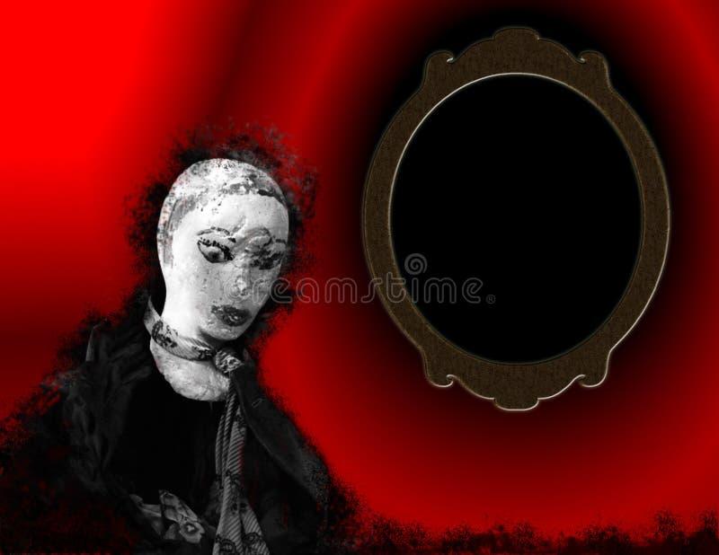 spegel royaltyfri illustrationer