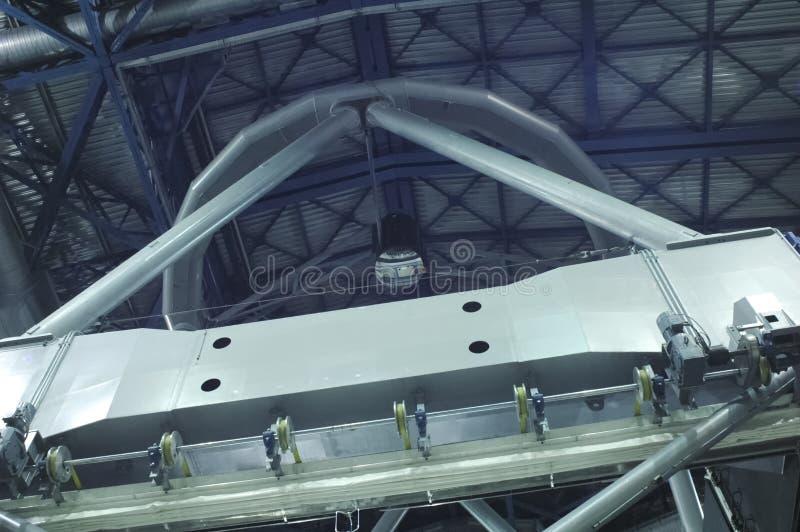 Spegel av teleskopet av Cerro Paranal arkivfoto