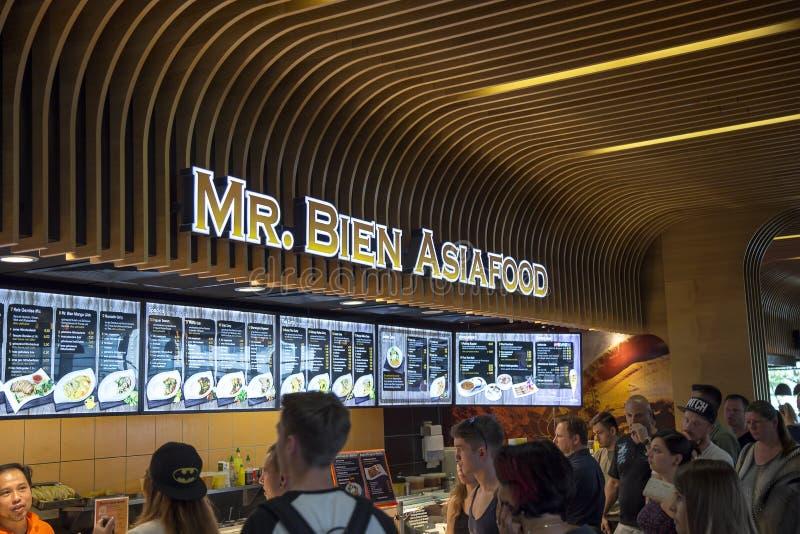 Speicheräußeres Herrn Bien Asiafood lizenzfreie stockbilder