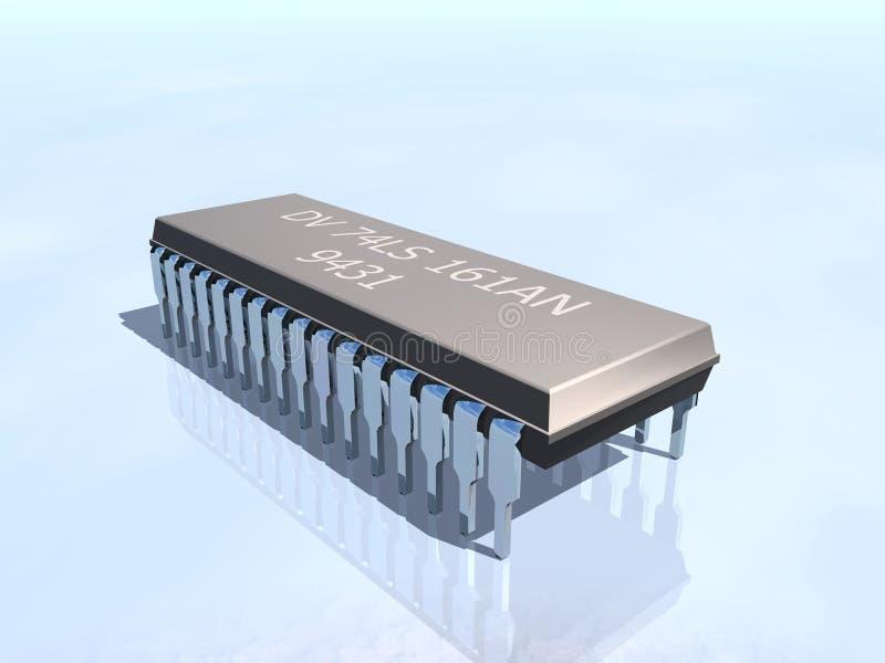 Speicherchipelektronik lizenzfreies stockfoto