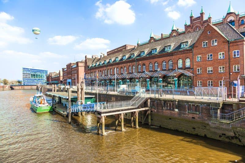 Speicherstadt в Гамбурге стоковые фотографии rf