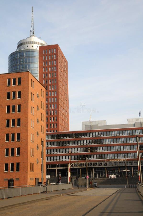 Speicherstadt, storehouses w Hamburg/ fotografia stock