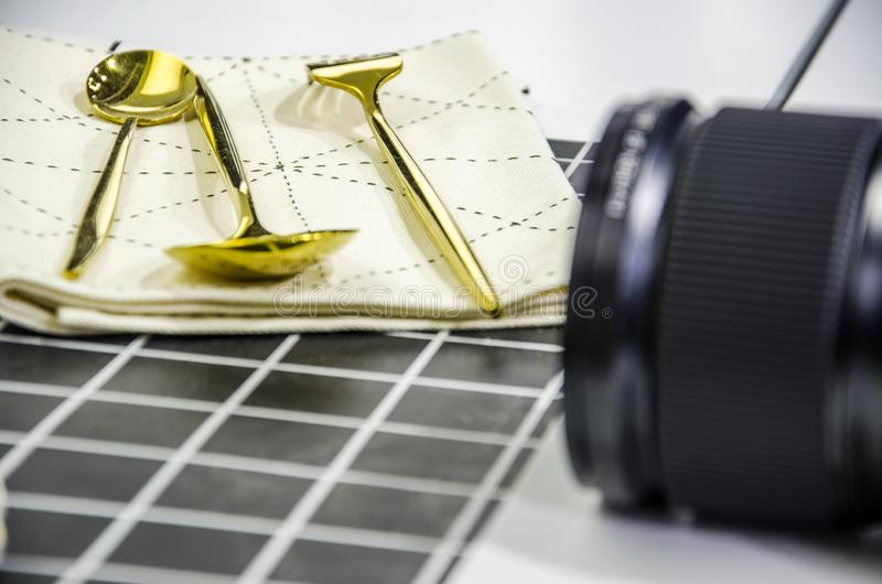 Speisetischphotographie lizenzfreie stockfotografie