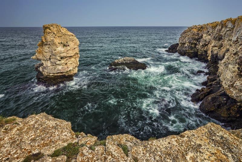 Spektakularny sceniczny szorstki natura krajobraz fotografia royalty free