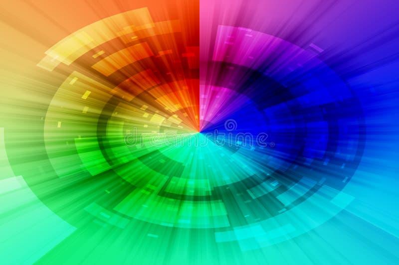 Spektra gör sammandrag bakgrund royaltyfria foton