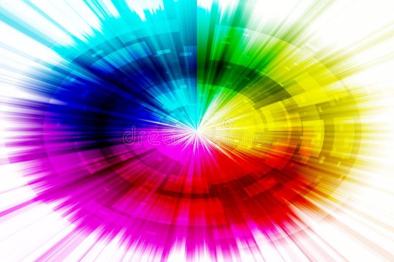 Spektra gör sammandrag bakgrund arkivbild