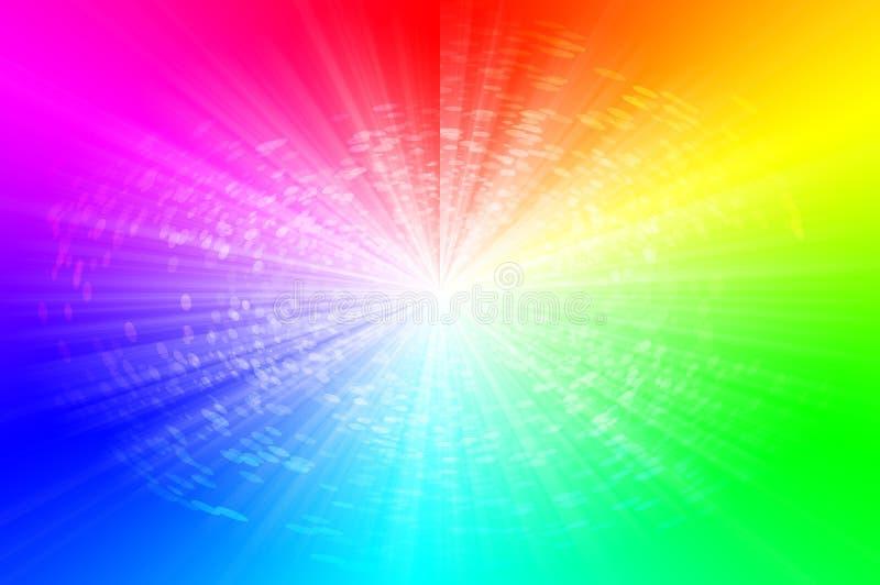 Spektra gör sammandrag bakgrund royaltyfri bild