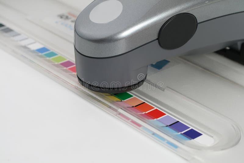 Spektrofotometer stockbild