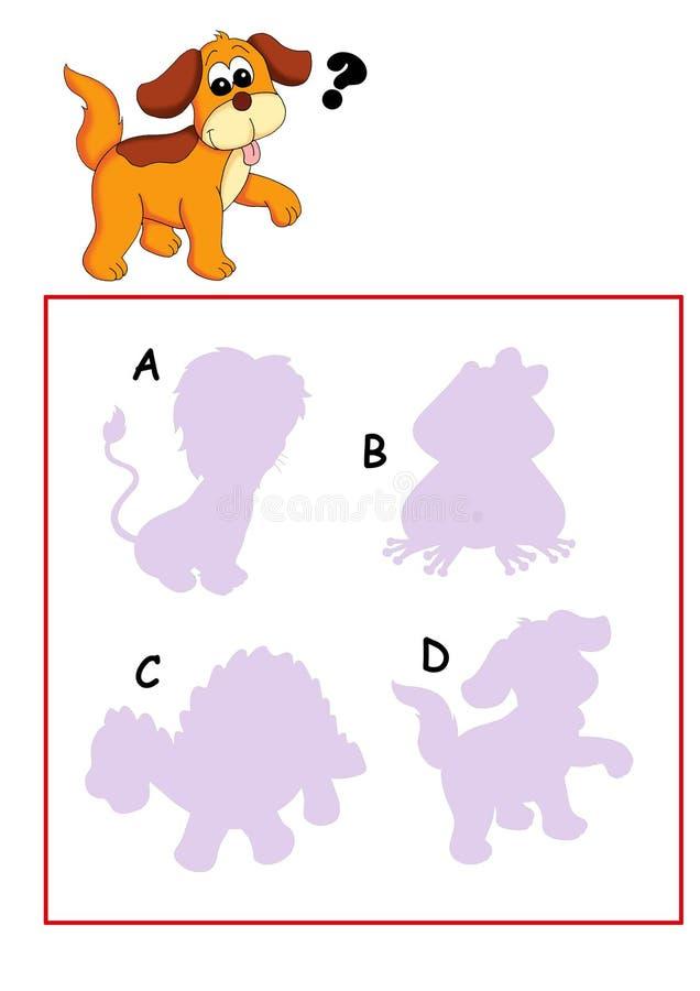 Spel 62, het overzicht stock illustratie