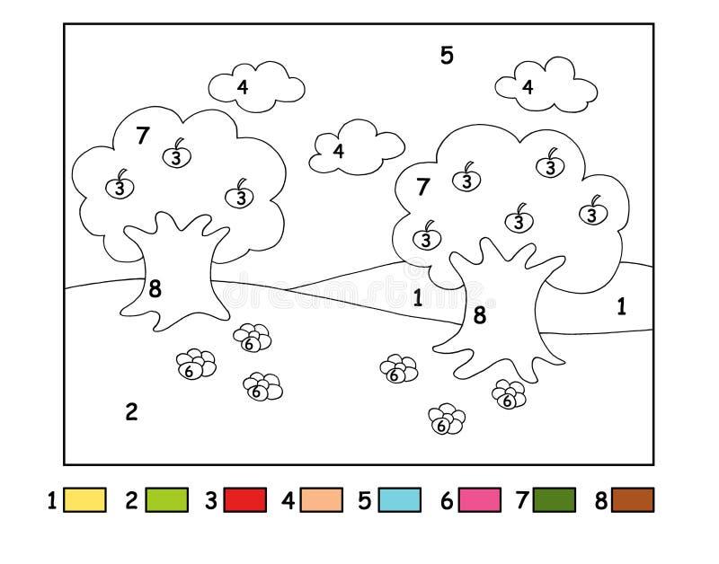 Spel 65, het hout stock illustratie