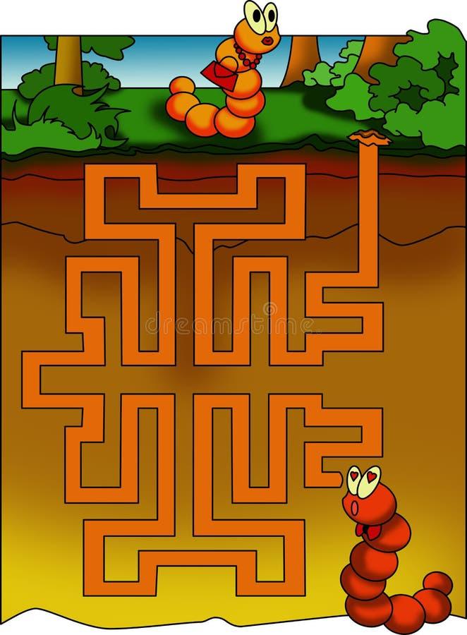 Spel 9 stock illustratie