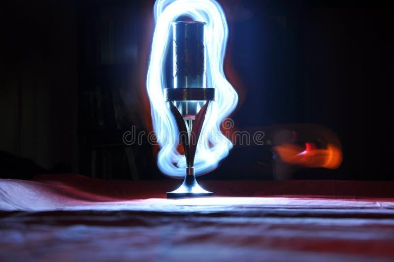 Spel van licht stock afbeelding