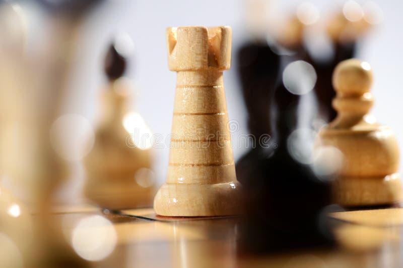 Spel van schaak stock foto's