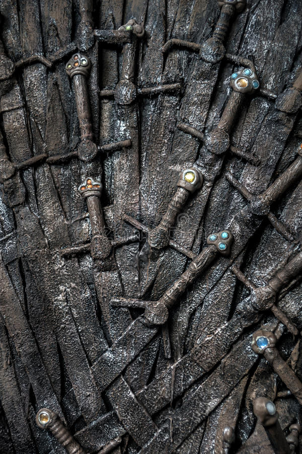 Spel van tronen royalty-vrije stock afbeelding