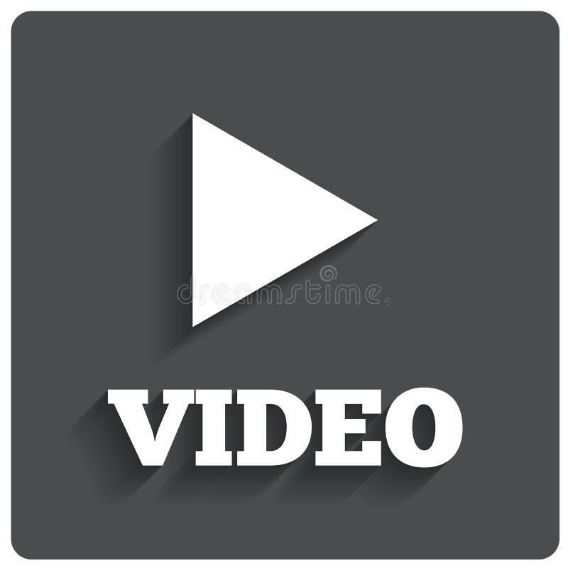 Spel videoknoop. Spelernavigatie. royalty-vrije illustratie