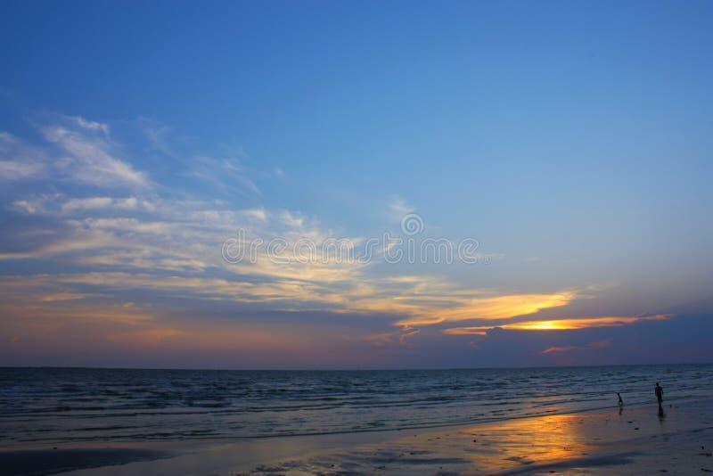 spela havet royaltyfria bilder