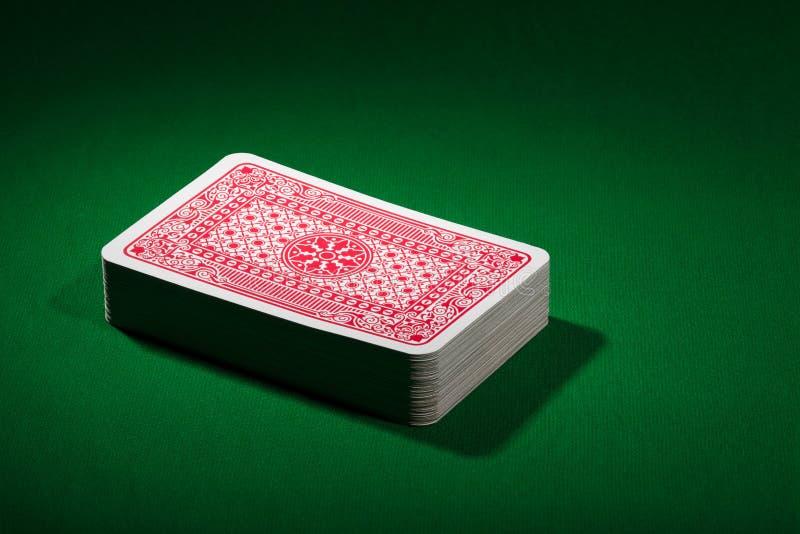 Spela kortdäcket fotografering för bildbyråer