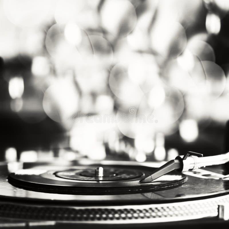 Spela vinyl arkivfoton