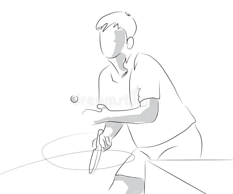 spelare stock illustrationer