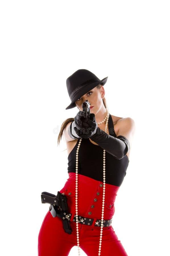 Speld op Gangster royalty-vrije stock foto