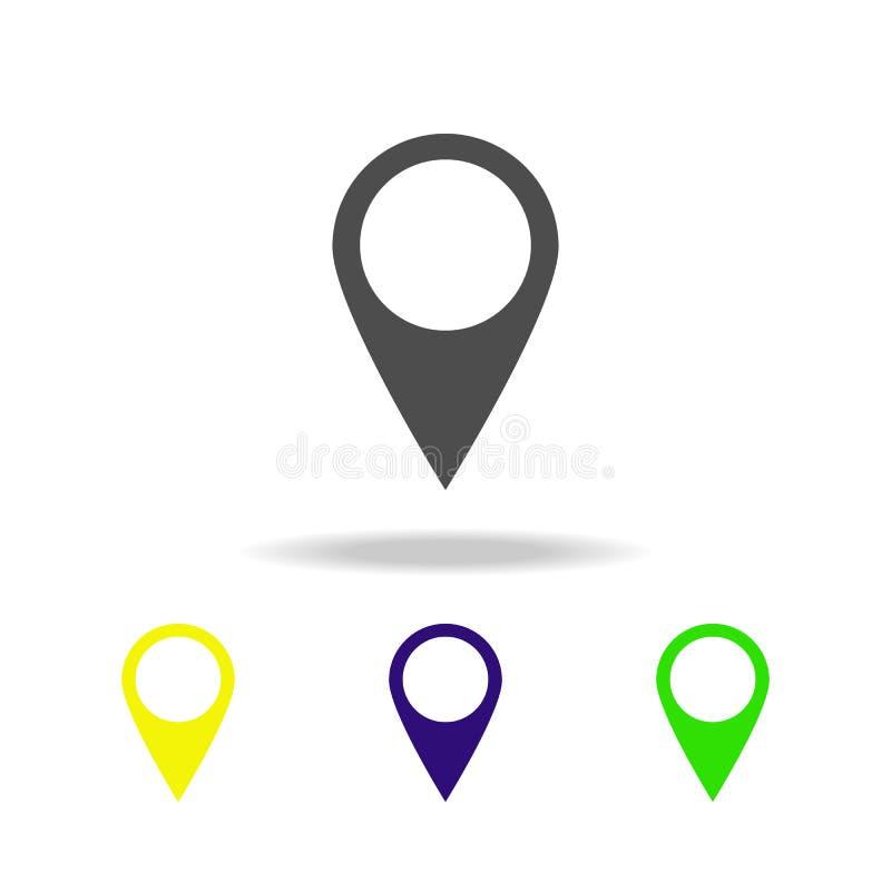 speld veelkleurig pictogram Element van Webpictogrammen Tekens en symbolenpictogram voor websites, Webontwerp, mobiele toepassing vector illustratie