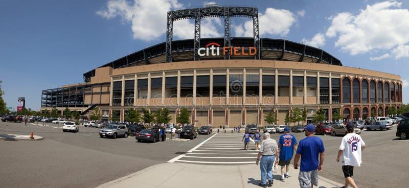 Speldag - Mets-Stadion - Queens New York stock foto