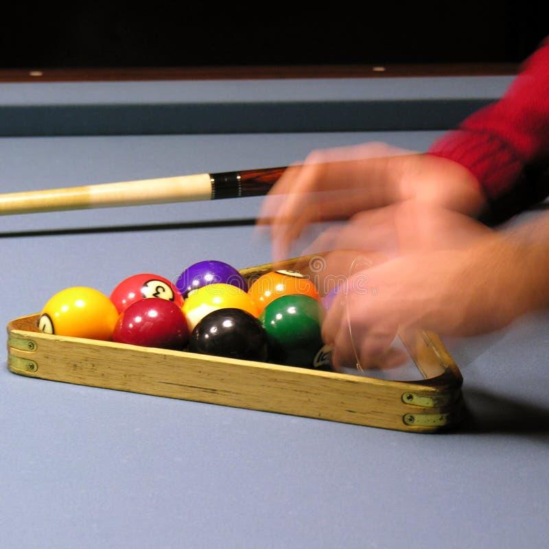 Speler 02 van de pool royalty-vrije stock foto