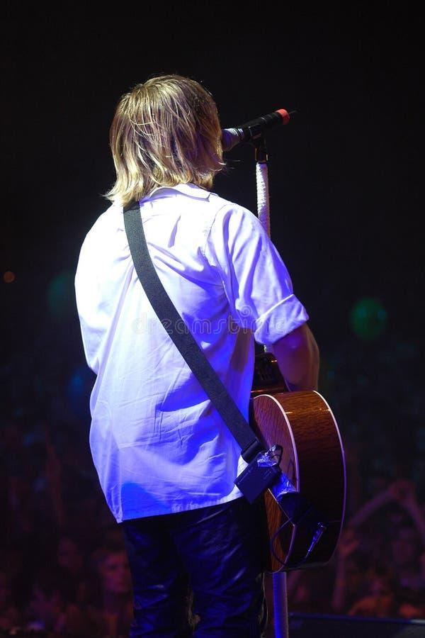 Speler 3 van de gitaar royalty-vrije stock afbeeldingen