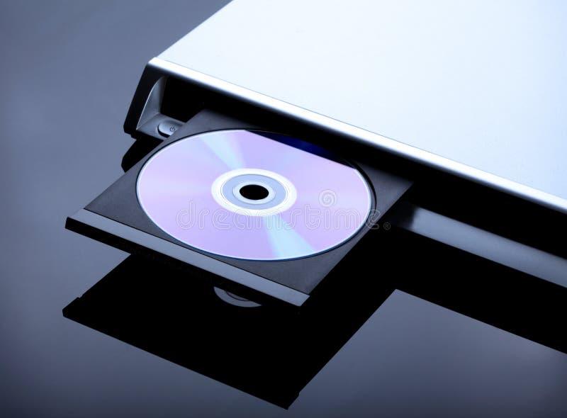 Speler DVD royalty-vrije stock fotografie