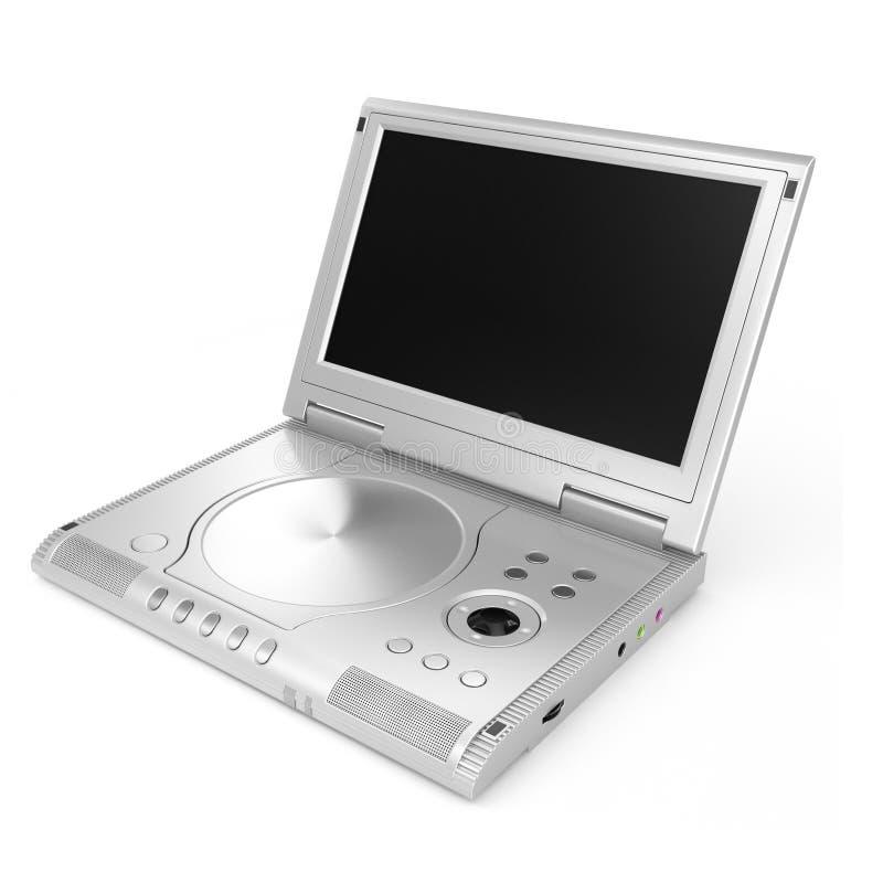 Speler DVD royalty-vrije stock afbeeldingen
