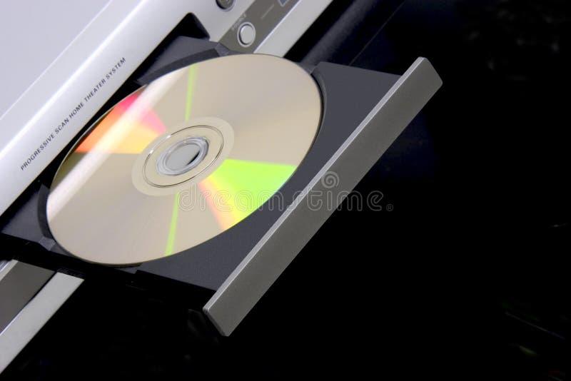 Speler DVD stock afbeeldingen