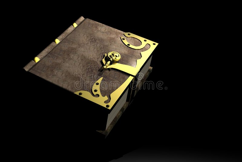 Download Spell book stock illustration. Image of binding, book - 1059105