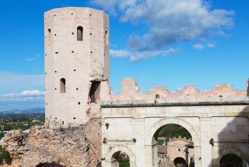 Spello, Italië royalty-vrije stock foto