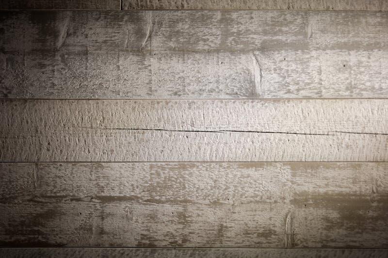 spelrum med lampa Textur med gamla, lantliga bruna plankor fotografering för bildbyråer
