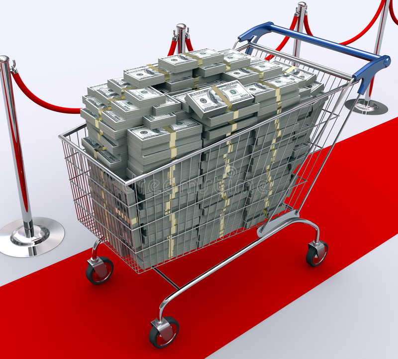 Download Spend Money stock illustration. Image of economics, purchaser - 4236204