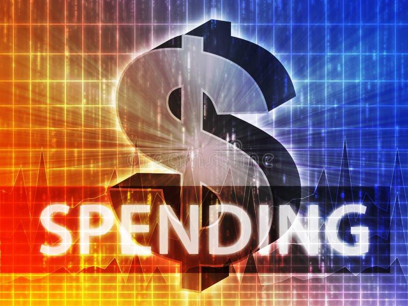 Spending Finance illustration