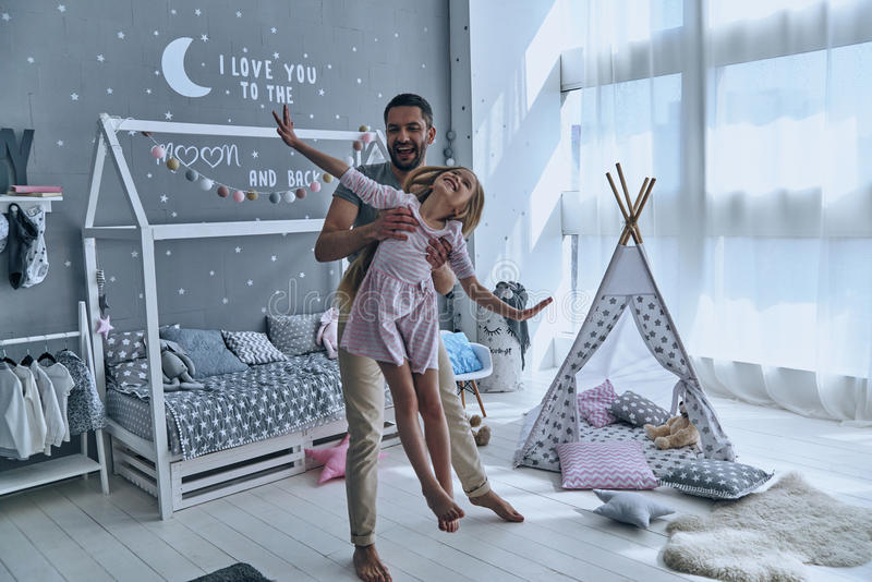 Spending great time together. stock photos