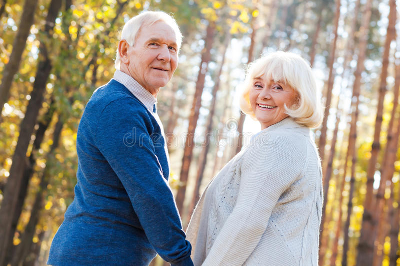 Spending great time together. stock images