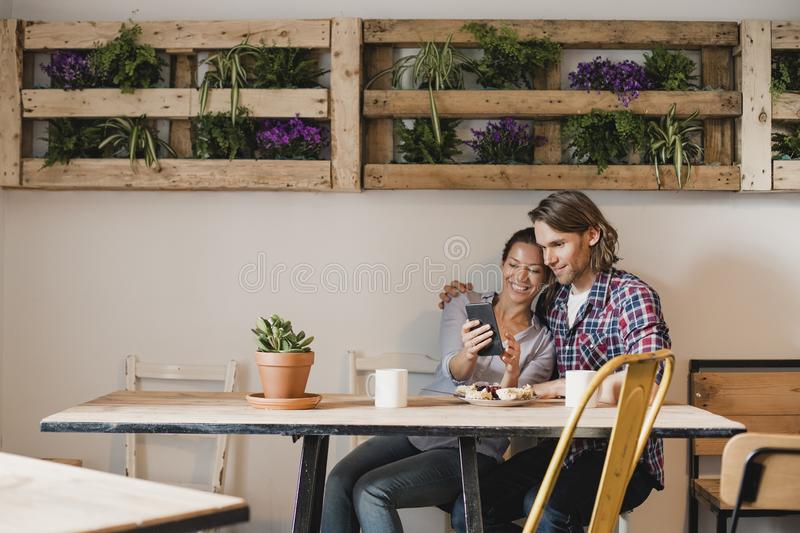 Spending Quality Time Together stock images