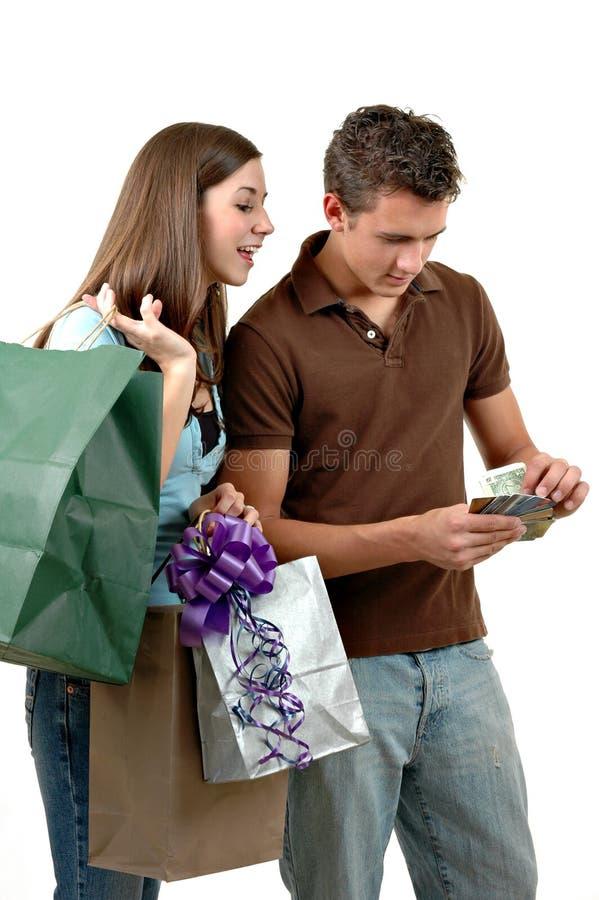 Spending Spree stock photos