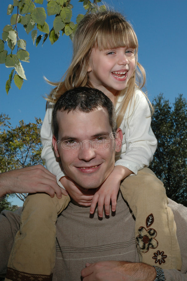 Download Spending Time with Dad stock photo. Image of funny, father - 1540108