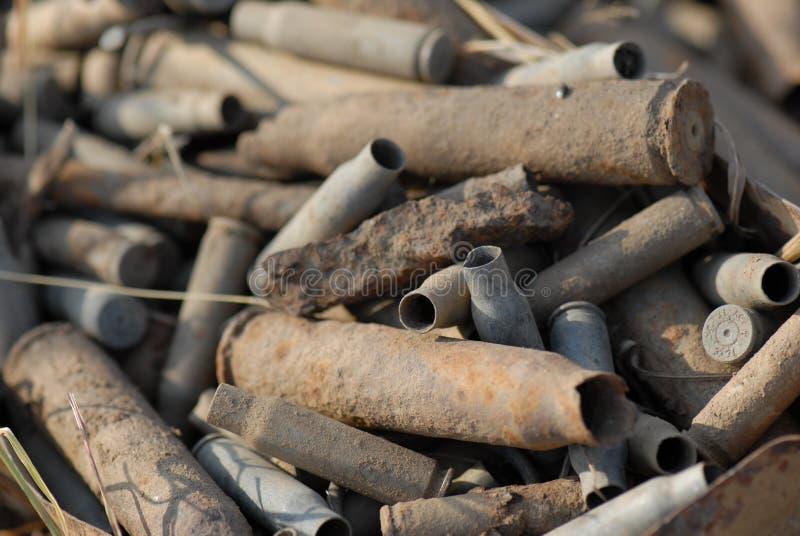 Download Spent gun cartidges stock photo. Image of cartidge, shell - 5053922