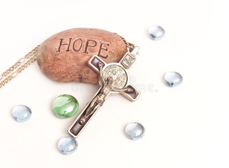 Speranza e fede fotografia stock