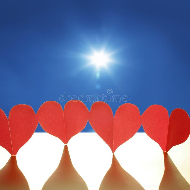 Speranza ed amore immagine stock