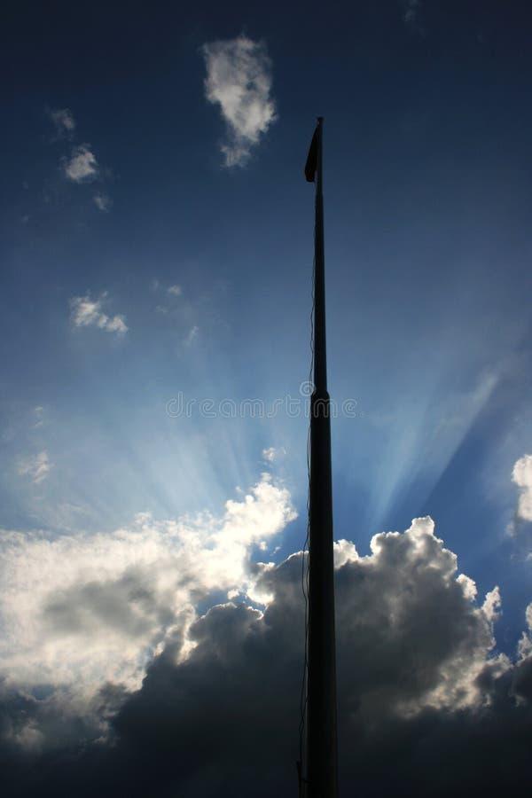 Speranza nel cielo fotografia stock libera da diritti