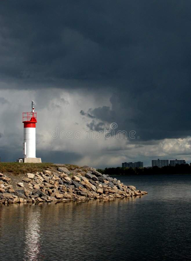 Speranza in una tempesta fotografie stock