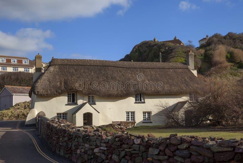 Speri la baia, Devon, Inghilterra fotografia stock libera da diritti