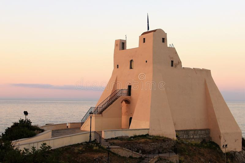 Sperlonga, Torre Truglia royalty-vrije stock fotografie
